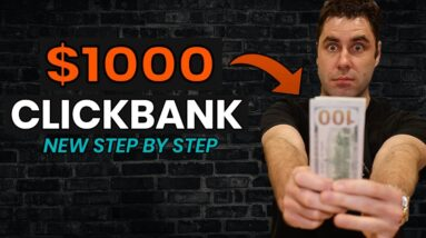Free NEW Way To Make $1000+ On Clickbank Best Beginners In 2021 (Step by Step)