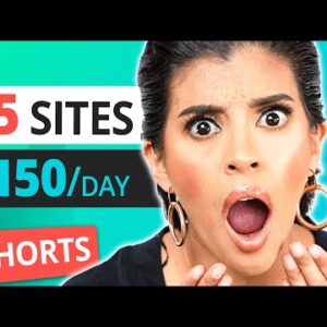 55 Websites & Apps To make $150/day #shorts