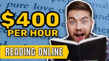 Earn $200-$800+ in ONE Hour JUST Reading   FREE Make Money Online 2021