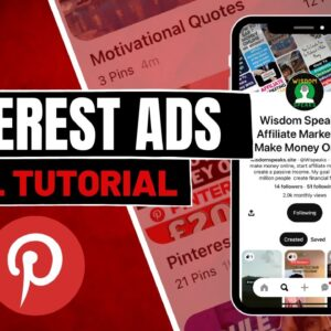 Pinterest Ads Tutorial 2021 - How To Create Pinterest Ads For Beginners (COMPLETE GUIDE)