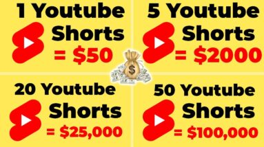 How To Make Money With YouTube Shorts ($500 PER DAY) | Make Money Online 2021