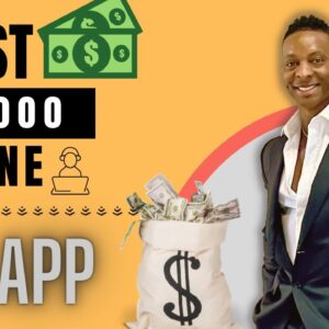 Earn Your First $1,000 Online Using This App | Make Money Online | Earn Money Online